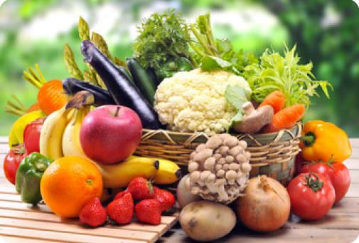 果物と野菜
